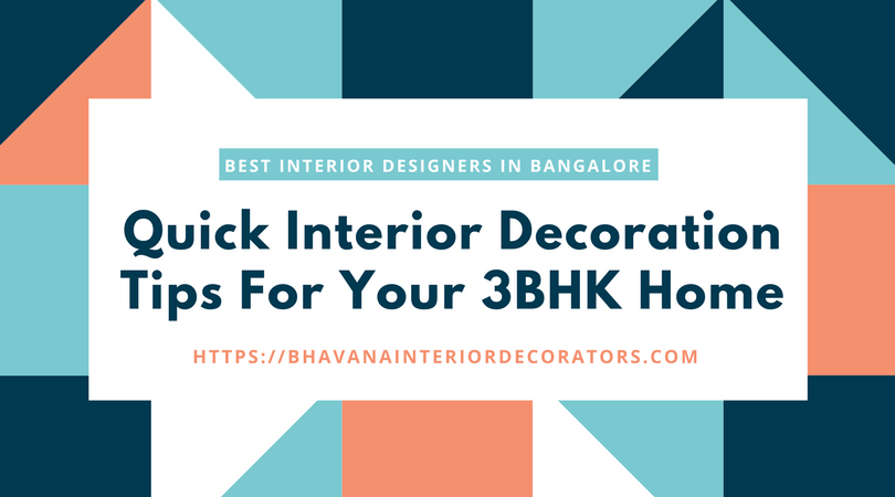 3BHK Home Interior Decoration